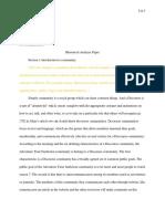rhetorical analysis paper portfolio draft
