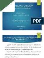 Despesa Pública - Diego Domann e Marcos Guarneri - Trabalho 3 Bimestre