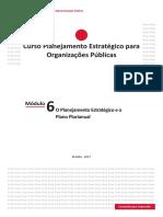 Módulo 6 - O Planejamento Estratégico e o Plano Plurianual