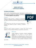 Portafolio de Capacitaciones empresa Ideas Corp S.R.L.