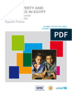 Eg Child Poverty and Disparities in Egypt FINAL - EnG Full Report - 23FEB10(1)