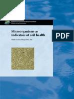 Microorganismos Como Indicadores de La Salud Del Suelo
