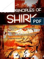 Four principles of Shirk