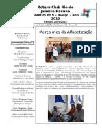 BOLETIM ROTARY PAVUNA 2009-10 nº 9 MARÇO 2010