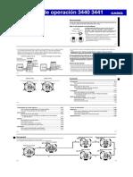 Manual CASIO 3441-3440