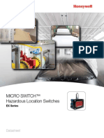 Honeywell Sensing Micro Switch Ex Product Sheet 002390 1 En