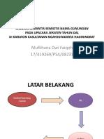 Analisis Semantis-semiotis Nama Gunungan
