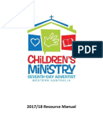 Children's Ministries (WA Conference) Resource Catalogue 2017/2018