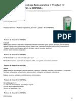 Farmaciaverde.util21.Ro-Home Gtgt Hofigal Produse Farmaceutice Gt Tincturi Gtgt Tinctura de Hrean 50 Ml HOFIGAL