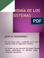 Taxonomía de Los Sistemas Unidad 3