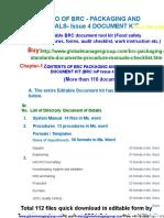 Brc Packaging Document Kit