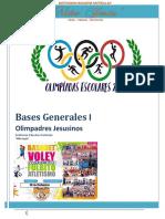 Bases Generales Niño Jesus 2017 Olimpiadas 2