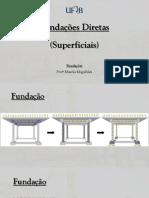 AULA 3 - Fundações Superficiais