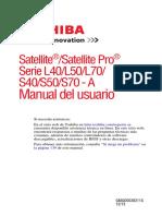 Manual Toshiba Satellite L40 actualizado