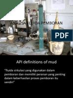 Slide 1 ; Introductory Mud Lab - DT - Mud Balance