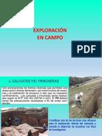 4.0 Exploracion de Campo