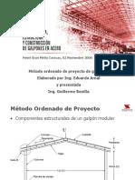Metodo Ordenado de Proyectos de Galpones