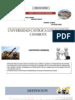 PPT de Contratos Mineros