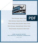 TAF 3Q Shareholder Letters