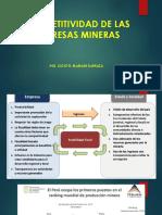 3. Competitividad de Las Empresas Mineras