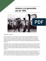 Sinpermiso-Indonesia Suharto y El Genocidio Anti-comunista de 1965 -2015!09!29