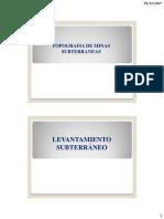 CURSO Topo Clase 9 - Ejerc Sub