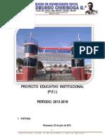 Proyecto Educativo Institucional 2013 Colegio Edmundo Chiriboga-1