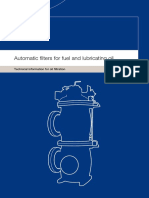 Automatic Filters for Fuel and Lubricating Oil Ti