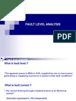Fault Level Analysis