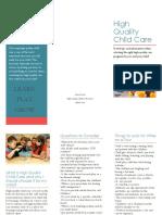 high quality brochure