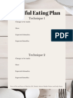 mindful eating plan