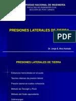 2. Presiones Laterales