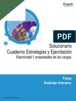 Solucionario Cuaderno Electricidad I Propiedades de Las Cargas 2013