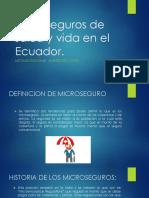 Microseguros de Salud y Vida en El Ecuador