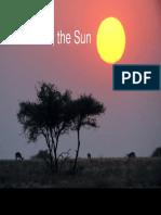 Our star, the sun