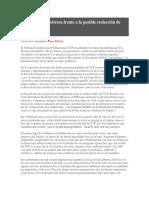 Bolivia La Clase Obrera Frente a La Posible Reelección de Evo Morales