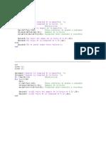 Vibraciones Mecanicas en Matlab