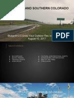 Colorado Blueprint 2.0 Trinidad Grow Your Outdoor Rec Industry
