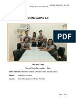 CIO Project Story - Stand Alone 2.0 Finals