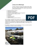 Aplicaciones de Prácticas de La Hidrología