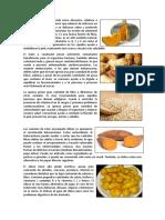 Alimentos Oriundos Del Peru
