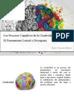 Procesos Cognitivos de La Creatividad y Pensamiento Divergente