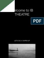 Ib Theatre intro