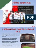 Sevilla f.c. Powerpoint