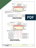 Corte de Excavaciones Electricas y de Tuberia Hidrocarburos 2-2