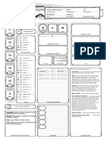 Dungons and Dragons Sample Sheet