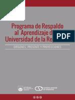 Programa de respaldo al aprendizaje