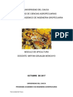 Modulo Apicultura 2017