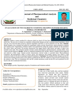 Evaluation of Two Marketlyexisting Shampoo Powder Holding Herbal Ingredients