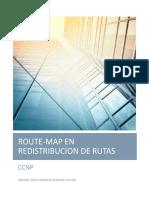 Aplicaciones de Route-map en La Redistibución de Rutas